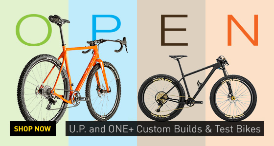 OPEN Bikes U.P and One+ Custom Builds