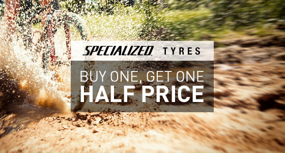 Specialized Tyres Buy one get one half price