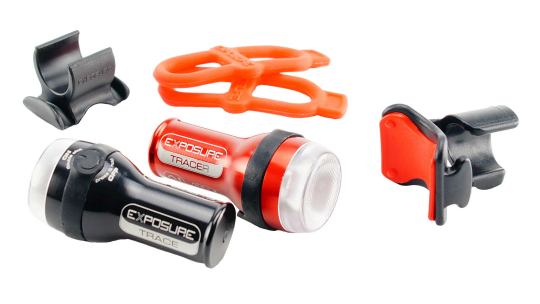 Buy  Exposure Trace & TraceR Bike Light Set Online at thetristore.com