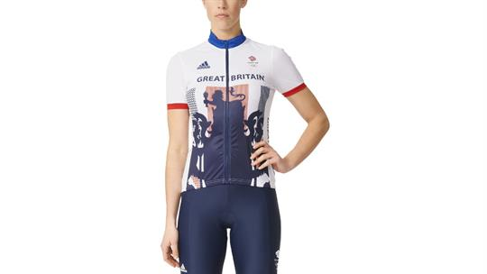 0dacc285e923 adidas Team GB Olympic Women s Cycling Jersey - The Tri Store