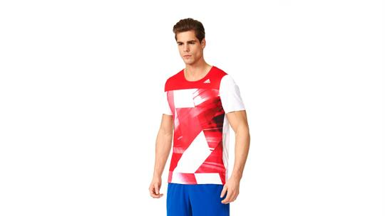 Buy  Adidas adizero Short Sleeve T-Shirt Online at thetristore.com