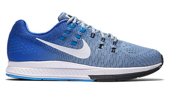 Buy  Nike Air Zoom Structure 19 Running Shoes Blue/Grey/Fade Online at thetristore.com