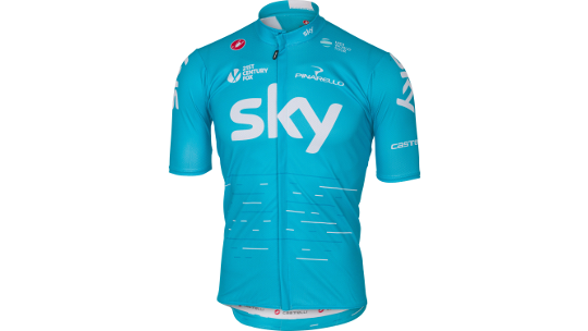 Buy  Castelli Team Sky Podio Jersey  Online at thetristore.com