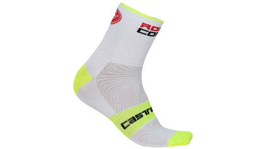 "Buy Castelli Rosso Corsa 9"" Cycling Socks Online at thetristore.com"