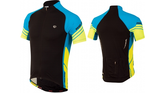 Buy  Pearl Izumi Elite Jersey Men's Black / Electric Blue Online at thetristore.com
