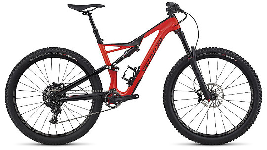Buy  Specialized Stumpjumper FSR Expert Carbon 650B 2017 Online at thetristore.com
