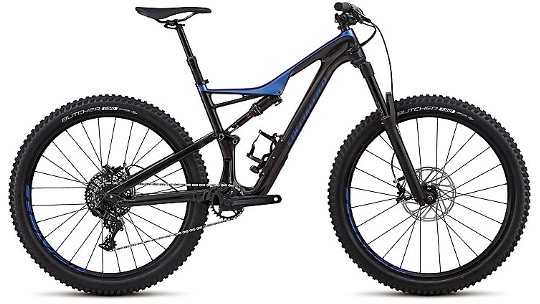 Buy  Specialized Stumpjumper FSR Comp Carbon 650B Mountain Bike 2018 Online at thetristore.com