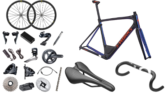 Buy  Specialized S-Works Roubaix 2018 Ultegra R8050 Di2 Disc Build Online at thetristore.com