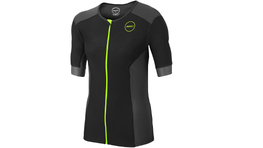 Buy  Zone3 Aquaflo Plus Short-Sleeve Men's Triathlon Top 2018 Online at thetristore.com