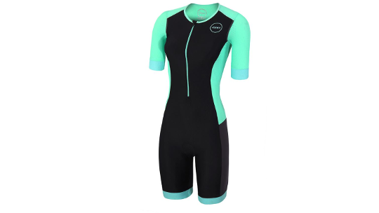 Buy Zone3 Aquaflo Plus Women's Short-Sleeved Trisuit Online at thetristore.com