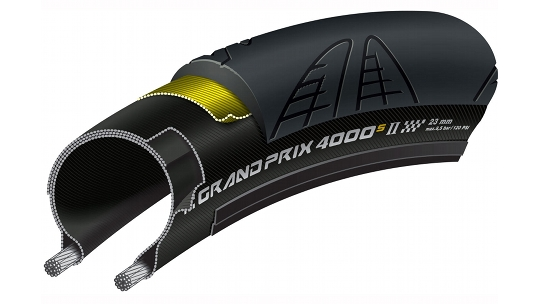 Buy  Continental GP4000S II Road Tyres Online at thetristore.com