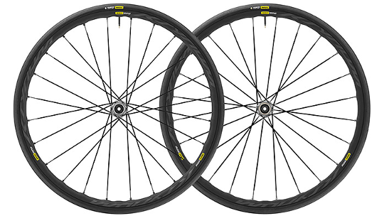 Buy Mavic Ksyrium Elite Tubeless Ready Disc Wheelset Online at thetristore.com
