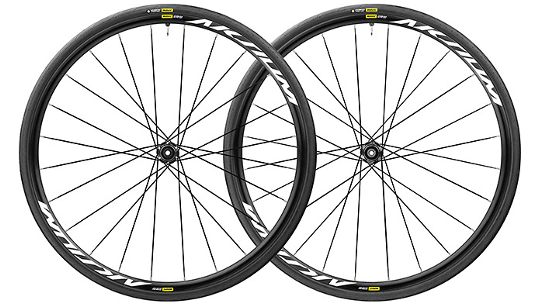 Buy Mavic Aksium Elite UST Disc Wheelset Online at thetristore.com