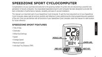 Buy Specialized Speedzone Sport Bike Computer , Online at thetristore.com #1