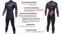 Buy  Zone3 Aspire Men's Wetsuit 2018, Online at thetristore.com #1